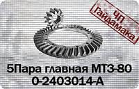 50-1701105-Б  Шестерня главной передачи МТЗ-80 z=12