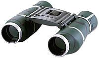 Складная модель оптического бинокля bushnell 12х25 (green), одновременная фокусировка обоих объективов