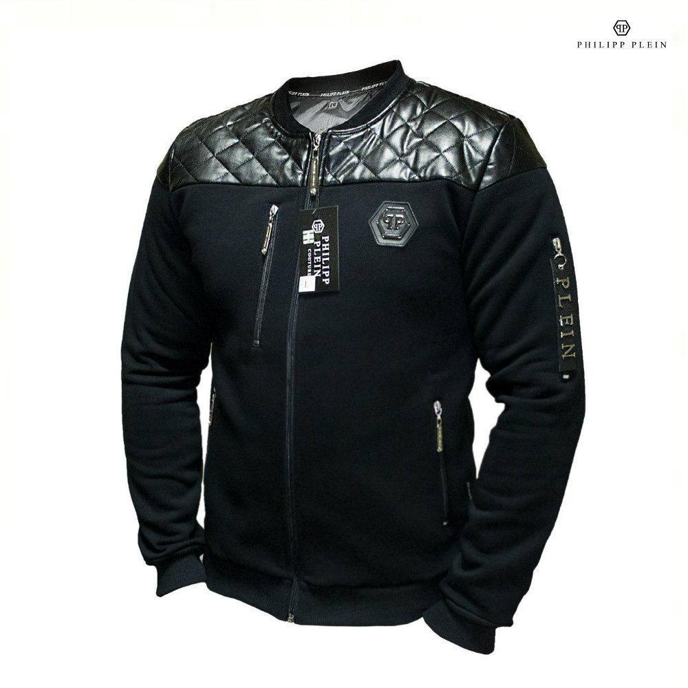 67fff068babf Кожаная куртка PHILIPP PLEIN. Реплика. Мужская одежда - интернет-магазин