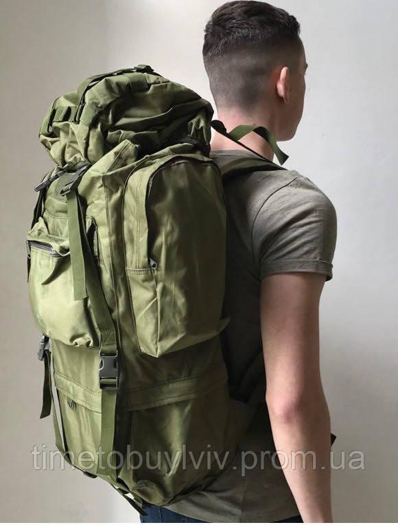 Тактический Штурмовой Военный Рюкзак Oxford 600D 65, Олива