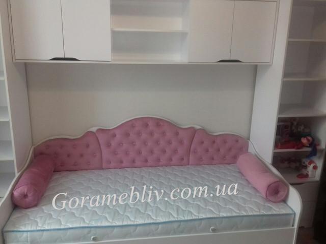 """На фото: мебель для детской комнаты """"Италия""""с кроватью """"Л-6"""""""