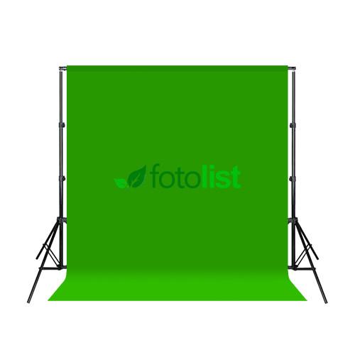Комплект: Фон тканевой зеленый 2,6х3,0 м (Хромакей) + Ворота Arsenal ARS-200 (2.0м)