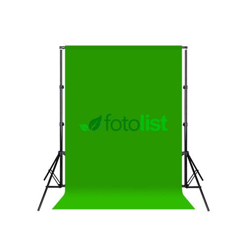 Комплект: Фон тканевой зеленый 1,8х2,7м (Хромакей) + Ворота Arsenal ARS-200