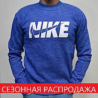 Размеры:46,48. Спортивная толстовка (свитшот) Nike (Найк) / Трикотаж Трехнитка, весна-зима-осень