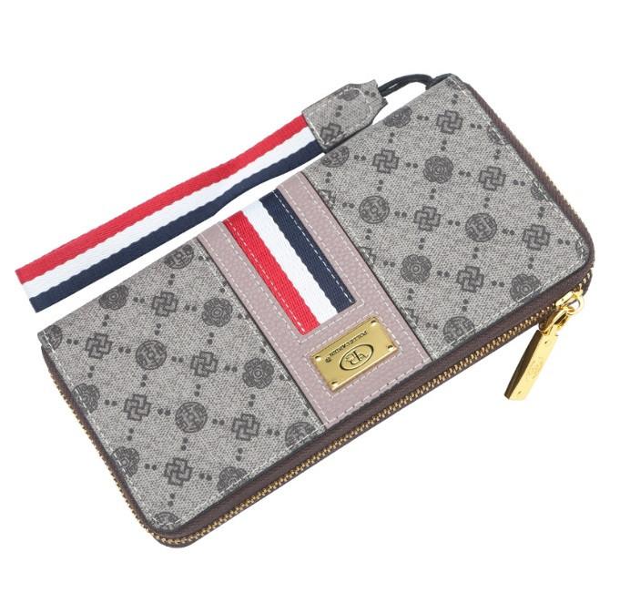 Жіночий гаманець BAELLERRY Fashion Ladies Long Clutch клатч Фіолетовий (SUN3706)