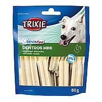 Лакомство для собак Trixie Denta Fun Dentros Mini 80 г (домашняя птица)