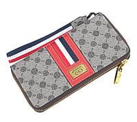 Жіночий гаманець BAELLERRY Fashion Ladies Long Clutch клатч Червоний (SUN3707), фото 1