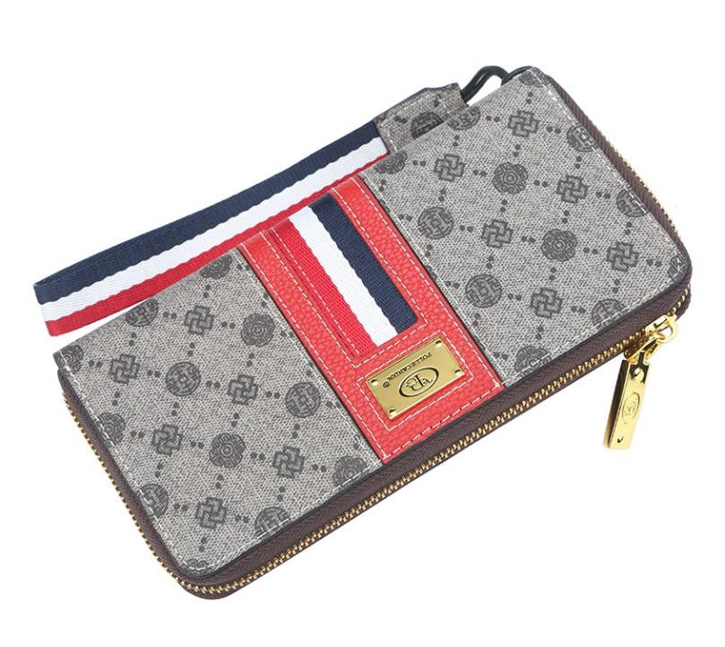 Жіночий гаманець BAELLERRY Fashion Ladies Long Clutch клатч Червоний (SUN3707)