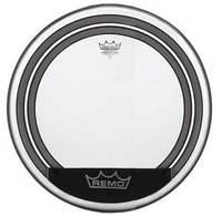 """Remo Powersonic PW132200 прозрачный двухслойный пластик 22"""", два демпферных кольца, защитная латка"""
