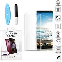 UV защитное стекло 3D Nano Optics для Samsung Galaxy Note 9 N960 полный клей (UV лампа в комплекте)