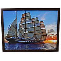 Картина из фото холсте под фоторамку 30х42 см.