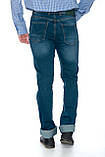 "Мужские джинсы Franco Benussi 19-454 Torino L 36"" рост Green, фото 5"