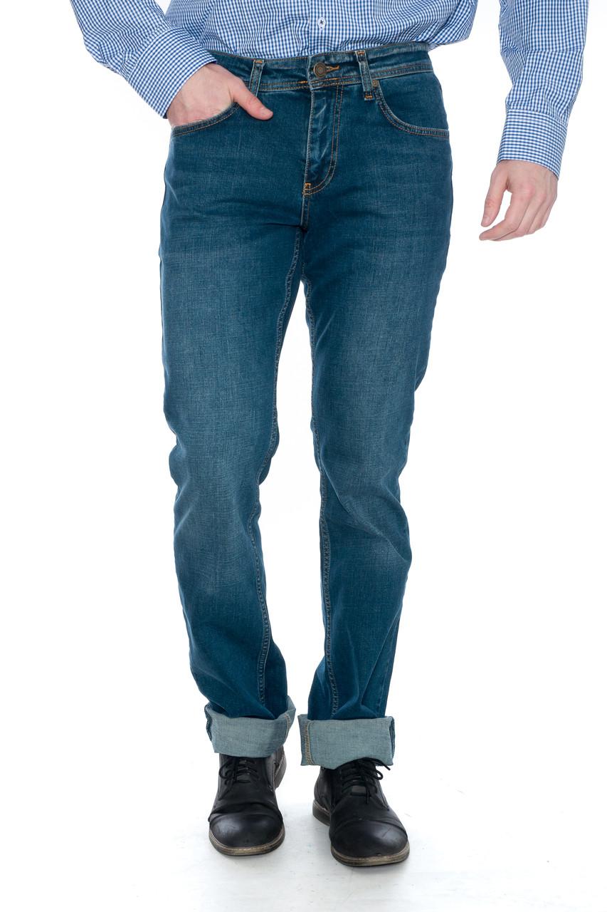 """Мужские джинсы Franco Benussi 19-454 Torino L 36"""" рост Green"""