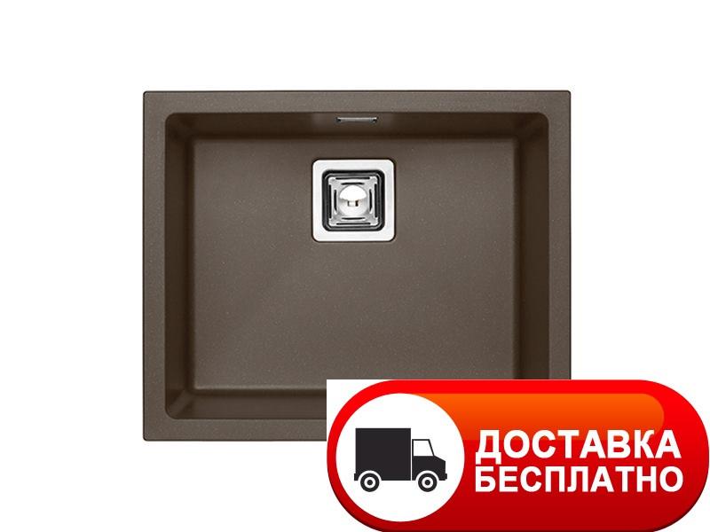 Мойка под столешницу Alveus QUADRIX 50G G03M chocolate metalic 55*45