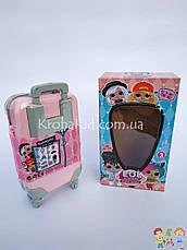 Кукла Лол с волосами в чемодане / 5 серия Лол с прической 881 /  L.O.L. Hairgoals /  аналог, фото 3