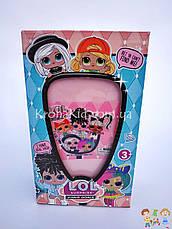 Лялька Лол з волоссям у валізі / 5 серія Лол з зачіскою 881 / L. O. L. Hairgoals / аналог, фото 2