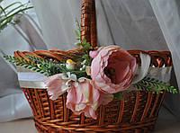 """Декор для Великоднього кошика """"Затишне гнездечко"""". Колір персиковий, фото 1"""