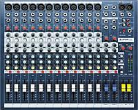 Soundcraft EPM12 микшерный пульт, 12 моно + 2 стерео канала