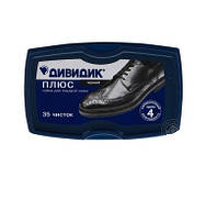 Губка для взуття Дівідік Плюс чорна (4601240009691)