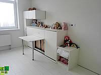 Горизонтальная кровать-трансформер со столом