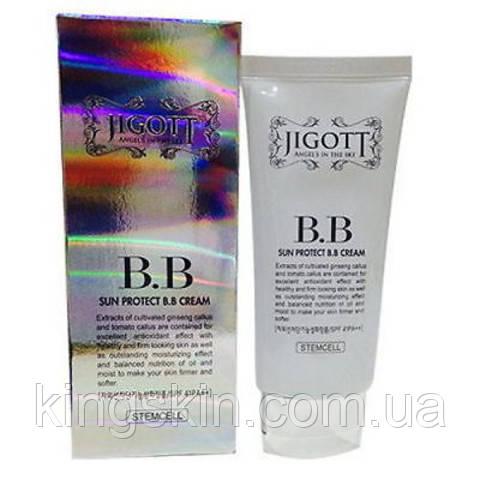 JIGOTT SUN PROTECT BB CREAM SPF-41 PA++, Защитный BB крем с защитным фактором, 50 мл