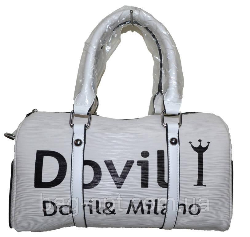 a00a2c46620e Женская белая сумка Dovili (17*31*15) : продажа, цена в Харькове ...