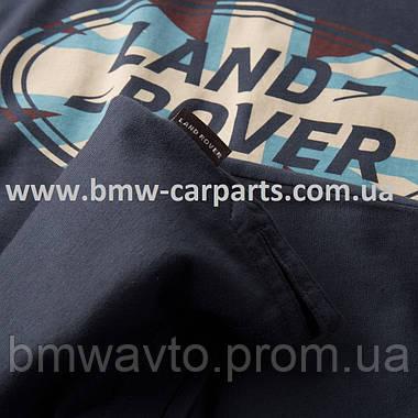 Мужская футболка Land Rover Men's Union Flag Graphic T-shirt, Navy, фото 3