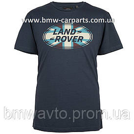 Мужская футболка Land Rover Men's Union Flag Graphic T-shirt, Navy