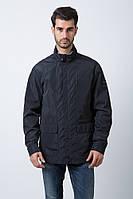 Куртка мужская ветровка (весна - осень) темно-синяя