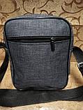 (24*19-большое)Барсетка reebok сумка спортивные мессенджер для через плечо Унисекс ОПТ, фото 4