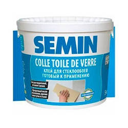 Клей для стеклохолста Семин (Semin) COLLE TDV, 10 кг
