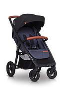 Детская прогулочная коляска EasyGo Quantum Air Denim