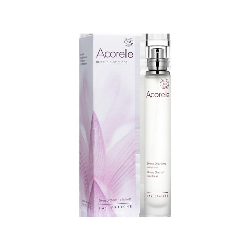 Органическая освежающая вода  Acorelle Divine Orchid ,30 мл