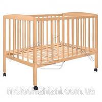 Детская кроватка на колесиках (Арт. 0233)