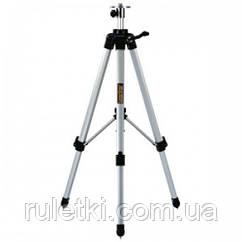 Компактный штатив 120 см для лазерных нивелиров