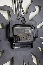"""Часы настенные  """"Атлантида"""" 30 см (черный мат + медь)., фото 3"""