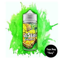 Desert 100 ml жидкость для электронных сигарет\вейпа. Pineapple, 3 мг\мл