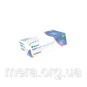 Перчатки нитриловые розовые, без пудры (S), фото 2