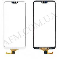 Сенсор (Touch screen) Huawei P20 Lite Dual Sim (ANE- L21)/  Nova 3e,   белый