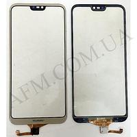 Сенсор (Touch screen) Huawei P20 Lite Dual Sim (ANE- L21)/  Nova 3e,   золотой