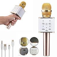 Беспроводной микрофон караоке Bluetooth Q7,  со встроенной колонкой