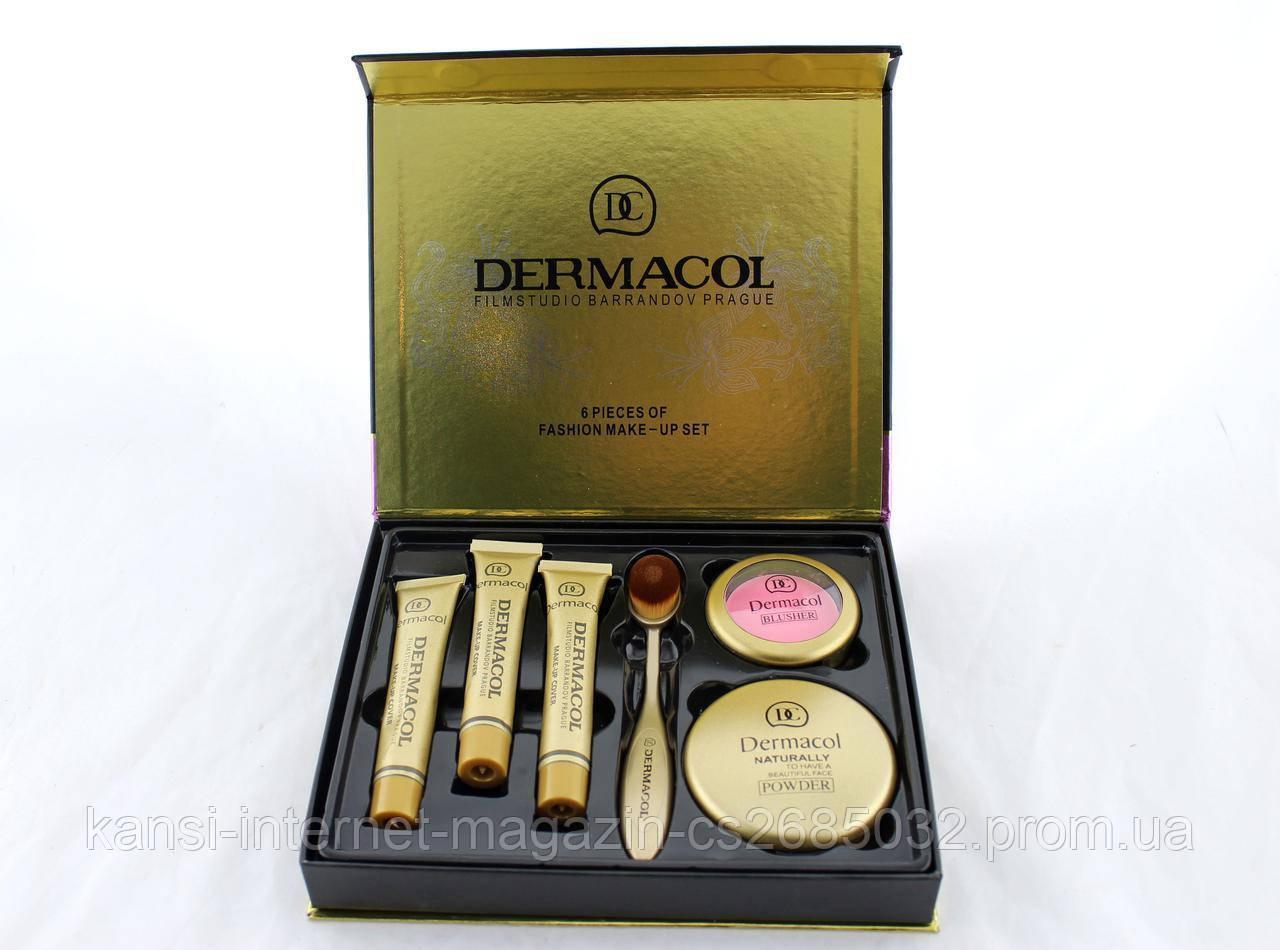 Набір косметики Dermacol 6 в 1 M809 тональний крем