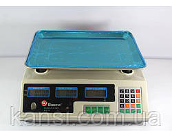 Весы торговые ACS 50kg/5g MS 228 Domotec 6V,электронные весы