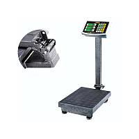 Підлогові ваги торговельні ACS 1000кг 60*80, потужні ваги платформні,ваги торговельні