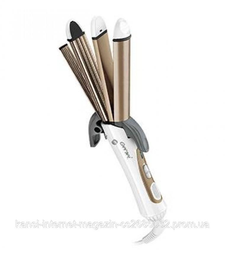 Стайлер для волосся Gemei GM 2962 праску 4 в 1