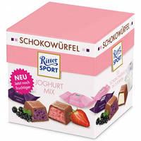 Набор шоколадных конфет Ritter Sport Schokowurfel Joghurt (Риттер Спорт йогурт), 176 г