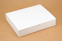"""Коробка """"Стильная"""" М0039-о4 белая, размер: 250*200*50 мм, фото 1"""