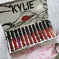 Помады Kylie Jenner Lip Gloss Suit 12 штук, фото 1