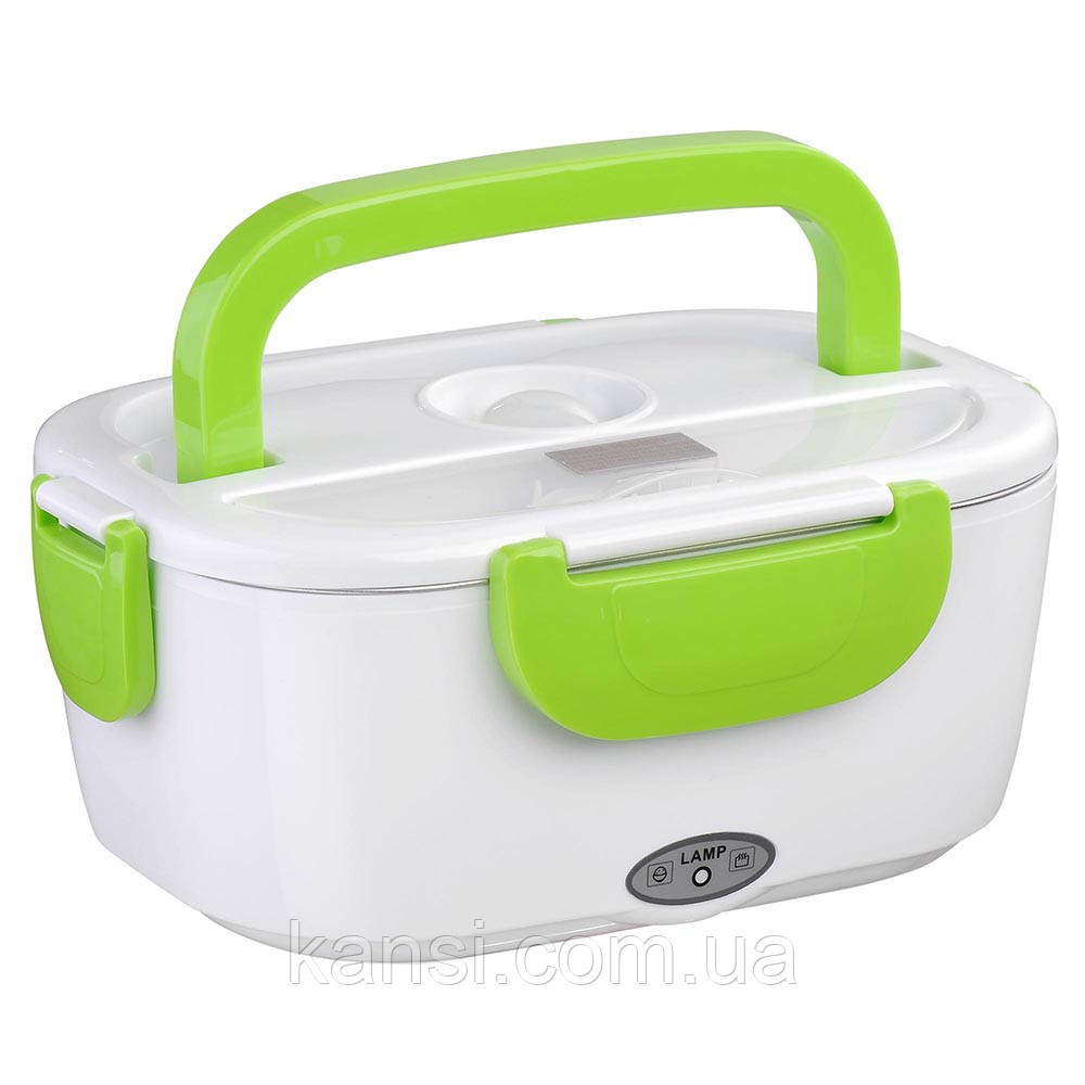 Ланч Бокс Electric lunch heater box с подогревом от прикуривателя 12v, автомобильный пищевой термос