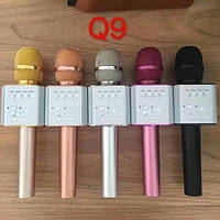 Бездротовий мікрофон караоке bluetooth MicGeek Q9 Karaoke з чохлом, мікрофон з вбудованою колонкою, фото 1